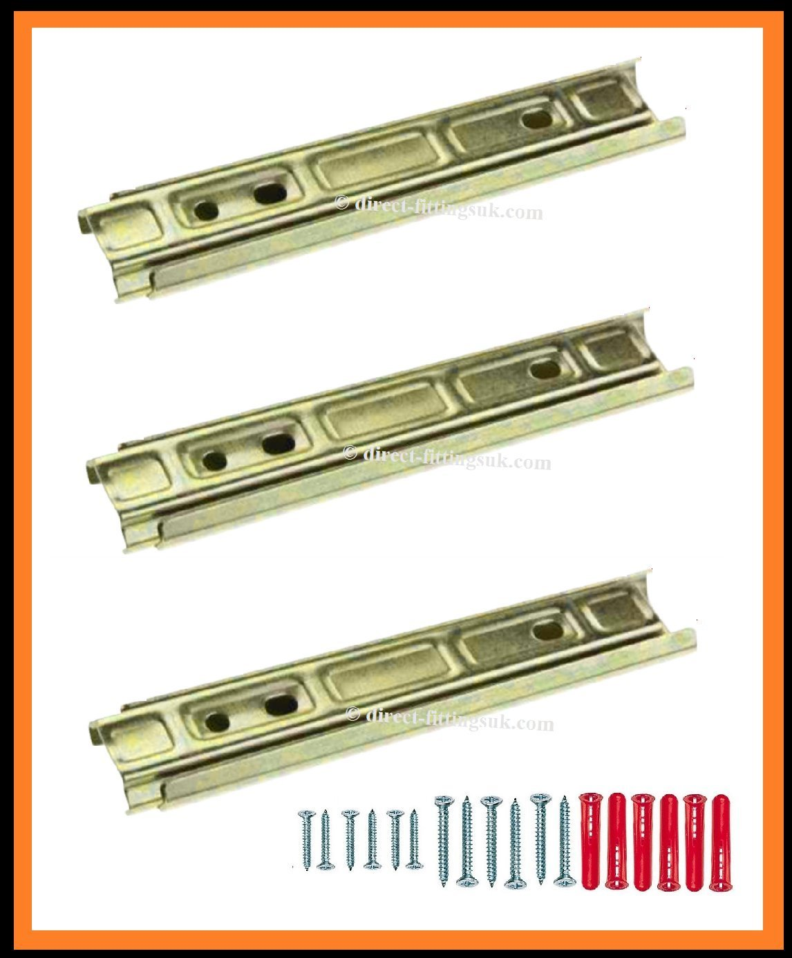 Bed Assembly Fittings Sets Knock Down Connectors
